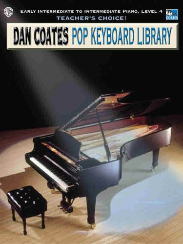 9780757994852: Teacher's Choice! Dan Coates Pop Keyboard Library, Bk 4