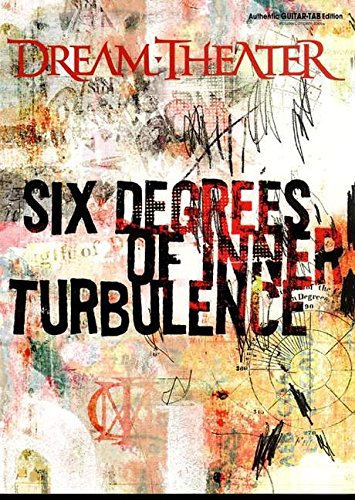 9780757995286: Dream Theater Six Degrees Of Inner Turbulence Authentic Guitar-Tab Edition