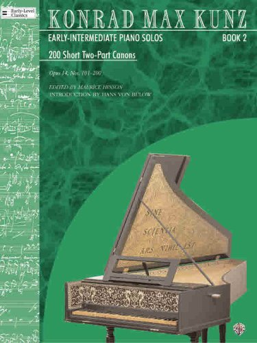 9780757995446: 200 Short Two-part Canons, Op. 14: Nos. 101-200