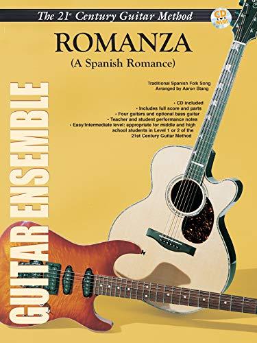Belwin's 21st Century Guitar Ensemble -- Romanza: A Spanish Romance (Score & Parts), Score...