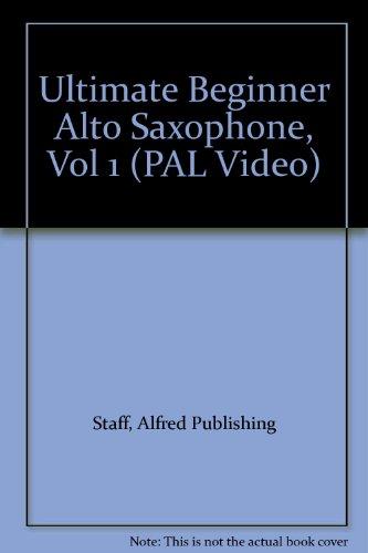 9780757995873: Ubs Alto Sax Vol 1 [Alemania] [VHS]