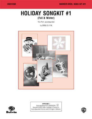 9780757995910: Holiday Song Kit #1: Fall & Winter (Warner Bros. Song Kit #31)