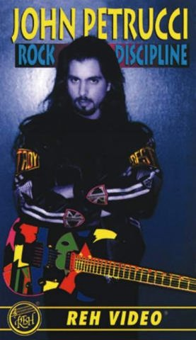 9780757996009: John Petrucci Rock Discipline Vhs