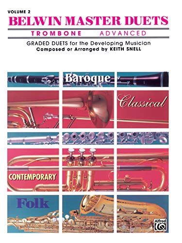 9780757996207: Belwin Master Duets Trombone Advanced, Vol. 2