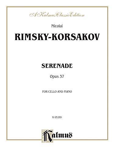9780757996252: Serenade, Op. 37 (Kalmus Edition)