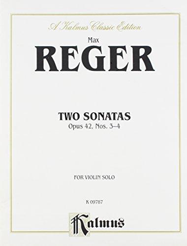 9780757996443: Two Sonatas, Op. 42 (Nos. 3 & 4) (Kalmus Edition)
