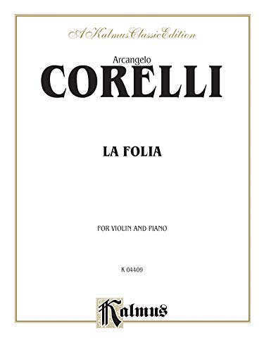 9780757996542: La Folia (Kalmus Edition)