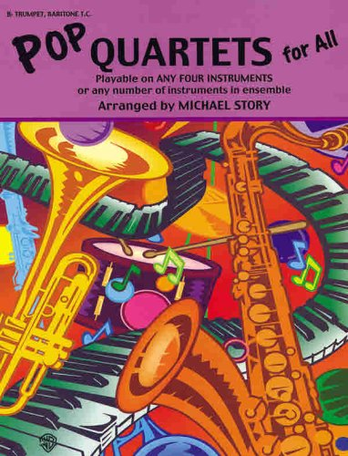 9780757996801: Pop Quartets for All for B-flat Trumpet and Baritone T.c. (Pop Instrumental Ensembles for All)