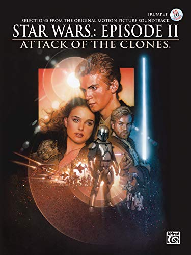 9780757997136: Star Wars Episode II Attack of the Clones: Trumpet, Book & CD