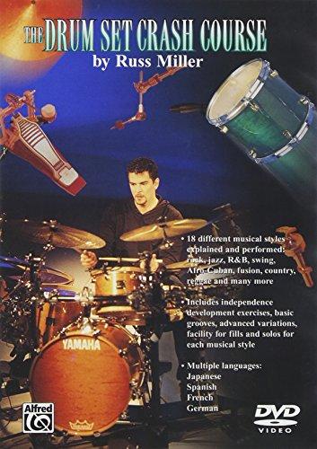 9780757997228: Russ Miller Drumset Crash Course DVD