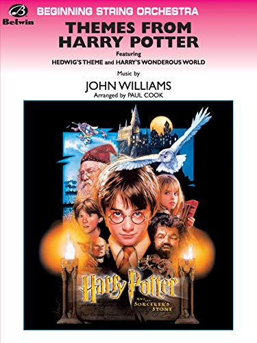 9780757997679: Harry Potter/Themes: String Orch:Grade1/2 Easy (Beginning String Orchestra)