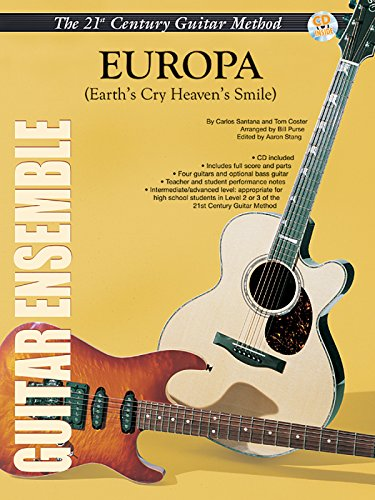 9780757997860: 21st Century Guitar Ensemble -- Europa (Earth's Cry Heaven's Smile) (Belwin's 21st Century Guitar Course)