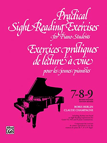 Practical Sight Reading Exercises for Piano Students/Exercices: Boris Berlin