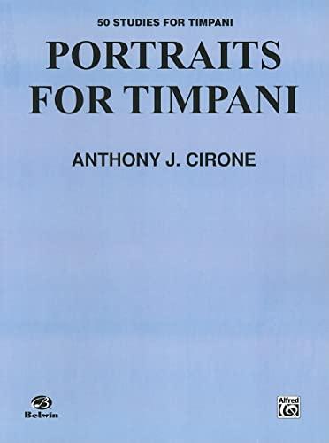 9780757998911: Portraits for Timpani