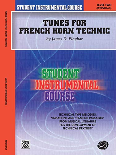 9780757999079: Student Instrumental Course Tunes for French Horn Technic: Level II