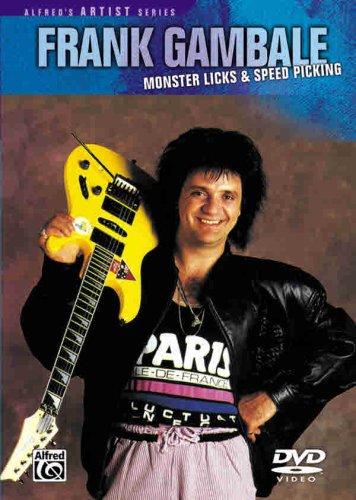 Frank Gambale -- Monster Licks Speed Picking: DVD: Frank Gambale