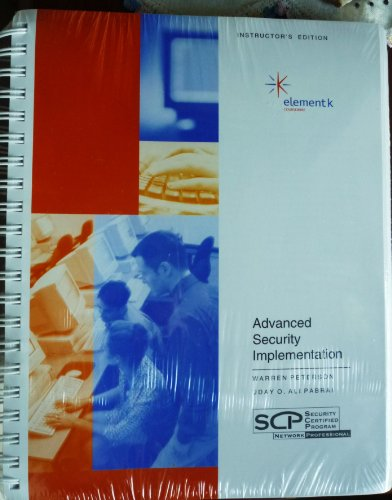 9780758069993: Security Certified Network Architect Advanced Security Implementation: Instructor's Edition