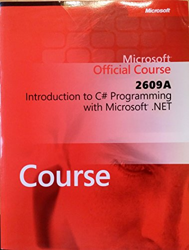 Introduction to C# Programming with Microsoft .: Microsoft