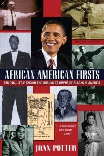 African American Firsts: Famous Little-Known and Unsung: Joan Potter
