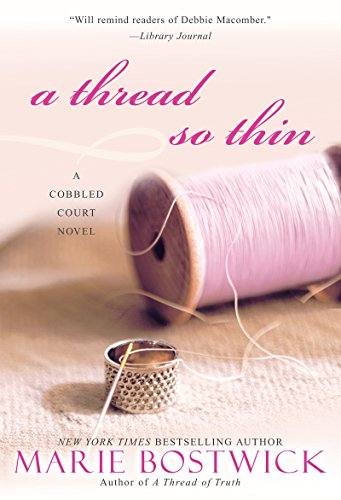 9780758232168: A Thread So Thin (Cobbled Court) (Cobbled Court Quilts)