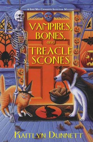9780758272676: Vampires, Bones, and Treacle Scones (Liss Maccrimmon Scottish Mysteries)