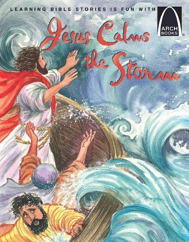 Jesus Calms the Storm: Cook Jean Thor