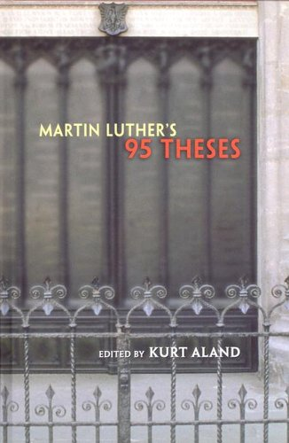 9780758608444: Martin Luther's 95 Theses