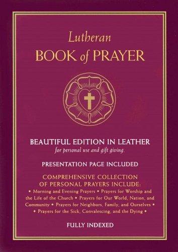 9780758611260: Lutheran Book of Prayer