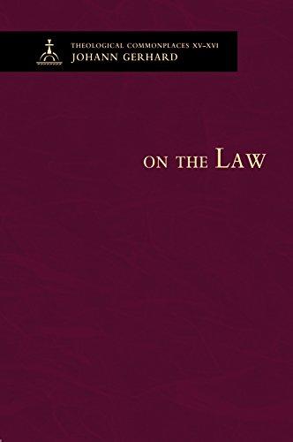 On the Law (Hardback): Johann Gerhard