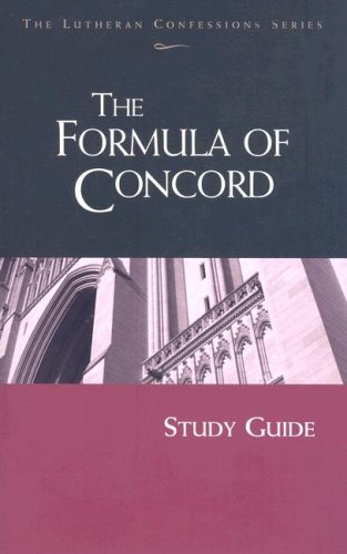 The Formula of Concord (Lutheran Confession): Kenneth Wagener, Edward