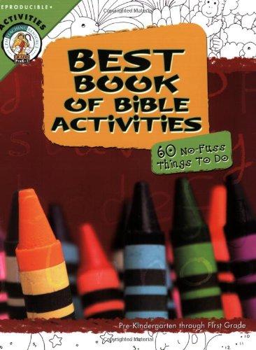 Best Book of Bible Activities: Pre-kindergarten Through: Concordia Publishing House