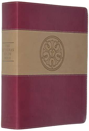 9780758628022: Esv Lutheran Study Bible Duotone Burg Lu