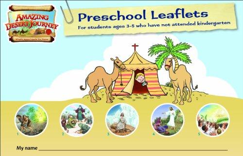 9780758631046: Student Travel Journal: Preschool Leaflets (Amazing Desert Journey Vbs)