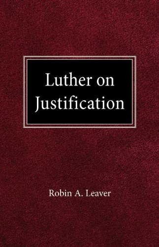 9780758634627: Luther on Justification
