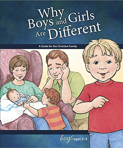 9780758649515: Why Boys and Girls Are Different: For Boys Ages 3-5 (Learning About Sex)