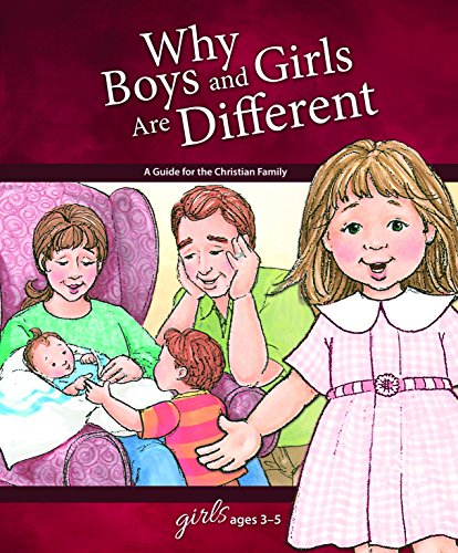 9780758649522: Why Boys and Girls Are Different: For Girls Ages 3-5 (Learning About Sex)
