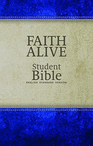 Faith Alive Student Bible-ESV (Imitation Leather)