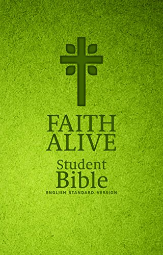 9780758651099: Holy Bible: Faith Alive, Green With Cross