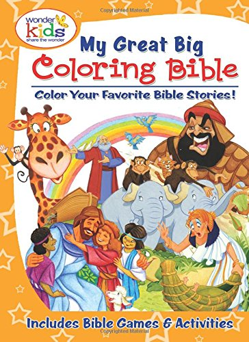 9780758652218: My Great Big Coloring Bible with Activities