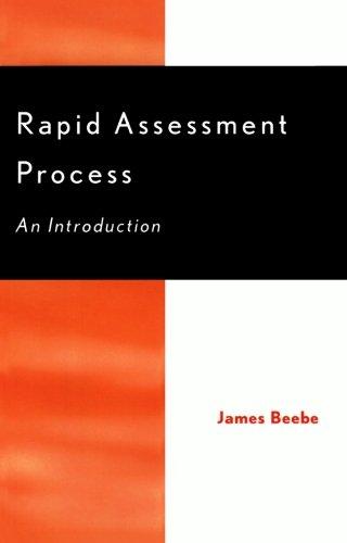 9780759100121: Rapid Assessment Process: An Introduction