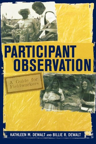 9780759100442: Participant Observation: A Guide for Fieldworkers