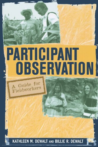 9780759100459: Participant Observation: A Guide for Fieldworkers