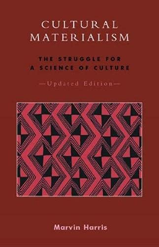 9780759101357: Cultural Materialism: The Struggle for a Science of Culture