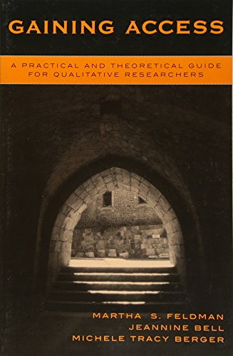 9780759102163: Gaining Access: A Practical and Theoretical Guide for Qualitative Researchers