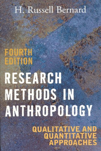 9780759108691: Research Methods in Anthropology: Qualitative and Quantitative Approaches