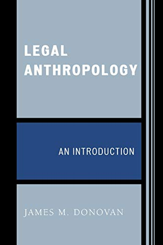 9780759109834: Legal Anthropology: An Introduction