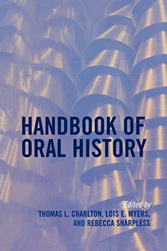 9780759111929: Handbook of Oral History