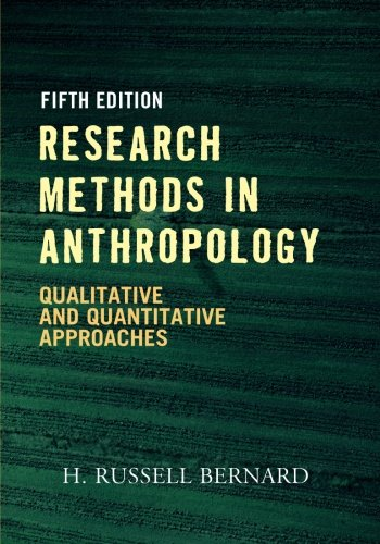 9780759112421: Research Methods in Anthropology: Qualitative and Quantitative Approaches