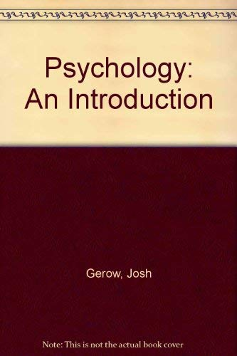 9780759302464: Psychology: An Introduction