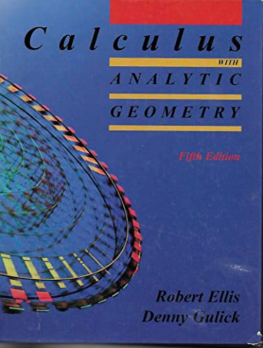 9780759307766: Calculus with Analytic Geometry